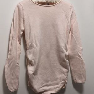 Light Pink Crew Neck sweater from Old Navy